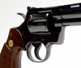 Colt Python 357 Mag 6 Inch Blue. DOM 1981. Like New. No Box - 3 of 8