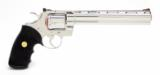 Colt Python 357 mag 8 In. Bright Stainless Finish With Hard Case - 3 of 8