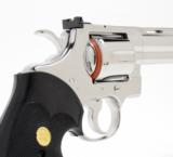 Colt Python 357 mag 8 In. Bright Stainless Finish With Hard Case - 4 of 8