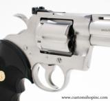 """Colt Python .357 Mag 4"""" Satin Finish. Like New Condition. In Blue Hard Case - 5 of 8"""