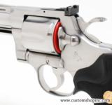 """Colt Python .357 Mag 4"""" Satin Finish. Like New Condition. In Blue Hard Case - 7 of 8"""