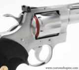 """Colt Python .357 Mag 4"""" Satin Finish. Like New Condition. In Blue Hard Case - 4 of 8"""