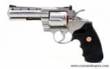 """Colt Python .357 Mag 4"""" Satin Finish. Like New Condition. In Blue Hard Case - 6 of 8"""
