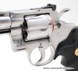 """Colt Python .357 Mag 4"""" Satin Finish. Like New Condition. In Blue Hard Case - 8 of 8"""