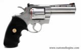 """Colt Python .357 Mag 4"""" Satin Finish. Like New Condition. In Blue Hard Case - 3 of 8"""