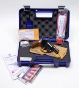 Smith And Wesson Blue Model 36-10 .38 Chiefs Special. In Matching Case, Excellent