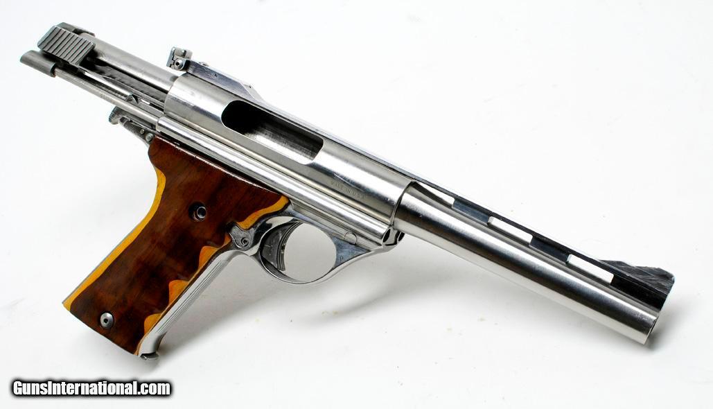 automag 44 mag amp model 180 semi auto pistol excellent condition mj collection. Black Bedroom Furniture Sets. Home Design Ideas