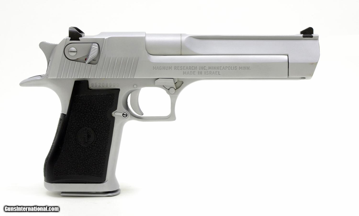 desert eagle by magnum research 44 mag semi auto pistol new in box condition kf collection. Black Bedroom Furniture Sets. Home Design Ideas