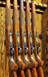 Winchester 70 Custom Safari Express African Big 5 Collection. New In Boxes.