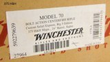 Winchester 70 Custom Safari Express African Big 5 Collection. New In Boxes. - 7 of 25
