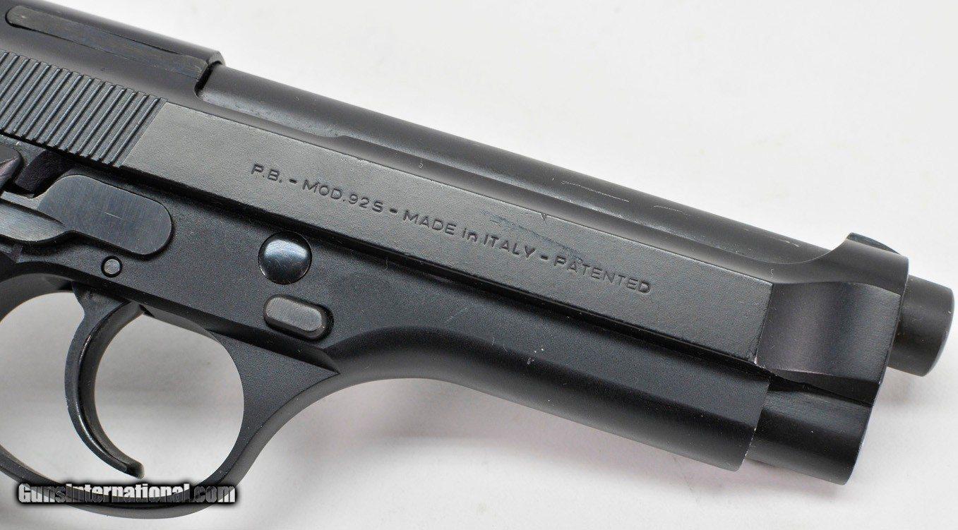 Beretta 92s 9mm  Very Nice Condition