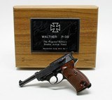 Walther P-38 9mm. Mitchell's Mausers Import. With Presentation Case. DW COLLECTION - 2 of 5