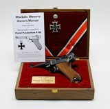 Mitchell's Mausers Luger Pistol Parabellum P-08. 9mm. In Presentation Case. DW COLLECTION