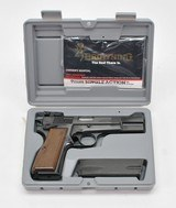 Browning Hi-Power 9mm Single Action. Excellent Condition. In Original Hard Case. W/Extra Magazine
