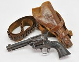 Colt SAA Single Action Army. Peacemaker 1892. Frontier Six Shooter. 44-40