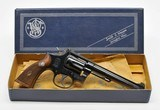 Smith & Wesson Model 17. 22 LR In Factory Box. 4 Screw. Very Good