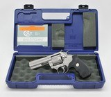 Colt King Cobra 4 Inch Stainless Model. 357 Mag. Excellent Condition. With Plastic Hard Case