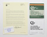 Colt Government Model 380-Auto, Mustang Manual, Repair Stations List And Colt Letter. 1985.