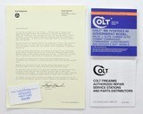 Colt MK IV/Series 80 Pistols Manual, Repair Station List And Letter. 1987. Free Shipping!