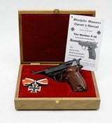 Walther P-38 9mm. Mitchell's Mausers Import. With Presentation Case. DW COLLECTION