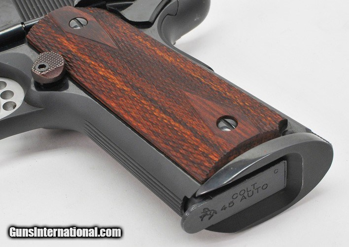 Colt Custom Competition 1911 With Compensator  Government Model  45