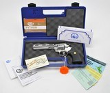 Colt Python 357 Mag. 6 Inch Bright Stainless Steel. Excellent Condition In Blue Hard