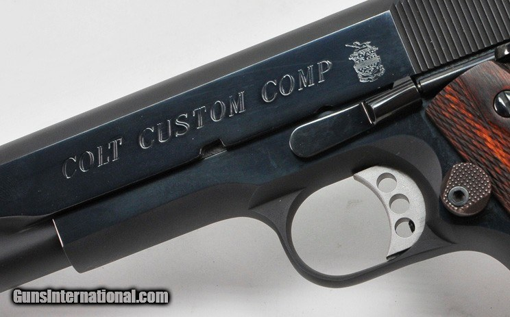 Colt Custom Competition 1911 With Compensator  Government
