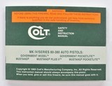Colt MK IV/Series 80 .380 Auto Pistols Manual, Repair Station List And Letter. 1993 - 2 of 5