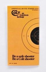 Colt Handling The Handgun Booklet. Part No. 90024 - 2 of 3
