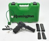 Remington 1911 R1 Enhanced .45 ACP. Very Good Condition. In Factory Hard Case With Extras - 1 of 9