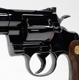 Colt Python .357 Mag.2 1/2 Inch Colt Blue.Early Style Rear Sight. Like New Condition. DOM 1964 - 5 of 7