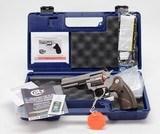 Colt King Cobra Target. 357 Mag. Model KCOBRA-SB4TS. 4 Inch. BRAND NEW. In Hard Case. - 1 of 5