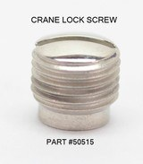 Colt Python I-Frame Revolver Nickel Side Plate And Crane 3 Screw Set. NOS - 3 of 7