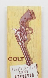 Vintage Colt Single Action Army Revolver Owners Manual. Colt Form SA-100.