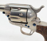 Colt 'Custom Shop' SAA 45 Colt. 5 1/2 Inch Watts Nickel. Model P1850Z. BRAND NEW In Blue Box. With Factory Extras. PRICE REDUCED! - 7 of 11