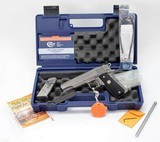 Colt Gold Cup Trophy .45 ACP. Model #05870X Stainless. Like New In Original Blue Hard Case