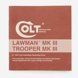 Colt Lawman MKIII Manual, Repair Stations, Colt Letter. 1979 - 2 of 5