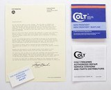 Colt New Frontier, New Frontier Buntline Manual, Repair Stations List, Colt Letter. 1982
