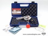 Colt Python 357 Mag. 6 Inch Satin Stainless Finish. Like New In Blue Hard Case. DOM 1996-97