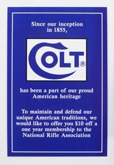 Colt Python Factory Paperwork Packet. 1993 Manual - 9 of 9