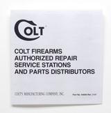 Colt King Cobra 1993 Factory Paperwork Packet - 3 of 10
