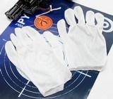 White Inspection Gloves, Hemmed, Ambidextrous