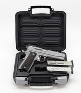 Sig Sauer 1911T-9-SME Semi-Auto Pistol. 9mm 5 Inch. Excellent Used Condition. In Case