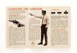 "Colt ""Handling The Handgun"" Tri-Fold Manual. Small Version. For Python, Anaconda, King Cobra, Diamondback... - 2 of 3"