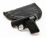 FN Baby Browning. Browning Belgium 25 ACP. Very Good Condition. With Original Soft Case