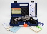 Colt Anaconda 44 Mag. 6 Inch Satin Stainless. Like New In Blue Hard Case