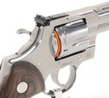 BRAND NEW 2020-2021 Colt Python .357 Mag SP4WTS 4.25 Inch. In Blue Hard Case - 7 of 9