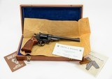 Smith & Wesson Model 27-2 .357 Mag. 8 3/8 Inch. As New In Presentation Case. DOM 1975-1976