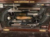 French Traveling Set 4 Pistols Consecutively Numbered in Original Case - 1 of 14