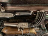 French Traveling Set 4 Pistols Consecutively Numbered in Original Case - 8 of 14